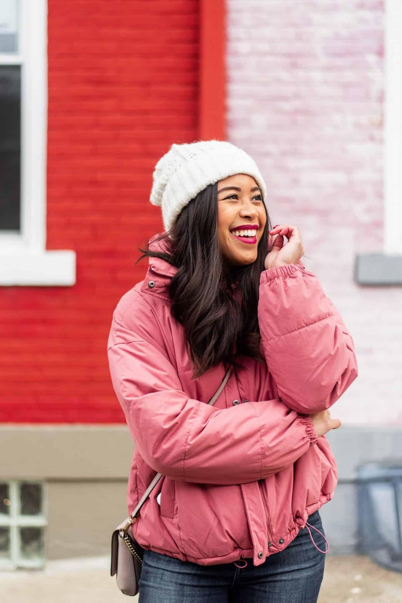 A női pufi kabát