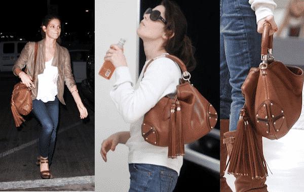 Angelina Jolie: Louis Vuitton kapucnis női táska