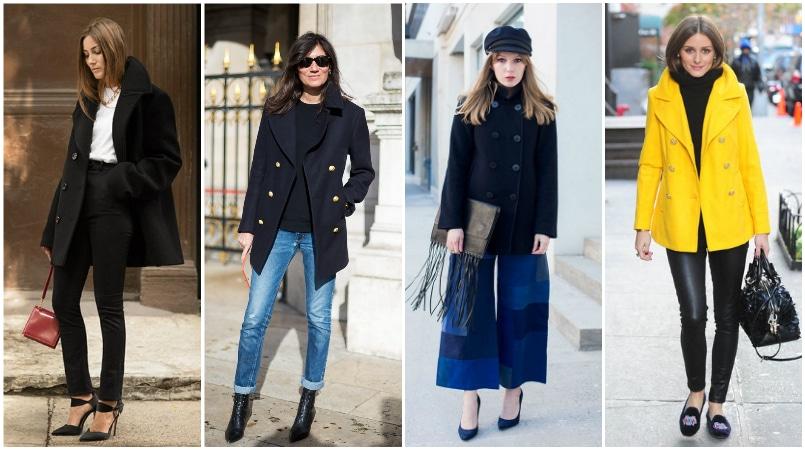 A borsókabát klasszikus felsőruházat-stílus mind férfiak, mind nők számára. Eredetileg a vitorlázók viselik ezt a hagyományosan gyapjú kabátot. Úgy tervezték meg, hogy télen melegen tartsa, és teljesen divatosnak tűnik. Kettős mellű elülső rész, és általában éppen a csípő alatt fejeződik be, a borsókabátok kiegészítést jelentenek minden ruházathoz. Viseljen ezt a stílust nadrággal, hogy ellensúlyozza a rövid hosszúságot. Adjon alul egy kontrasztos pulóvert, hogy stílusának bizonyos dimenzióját megkapja.