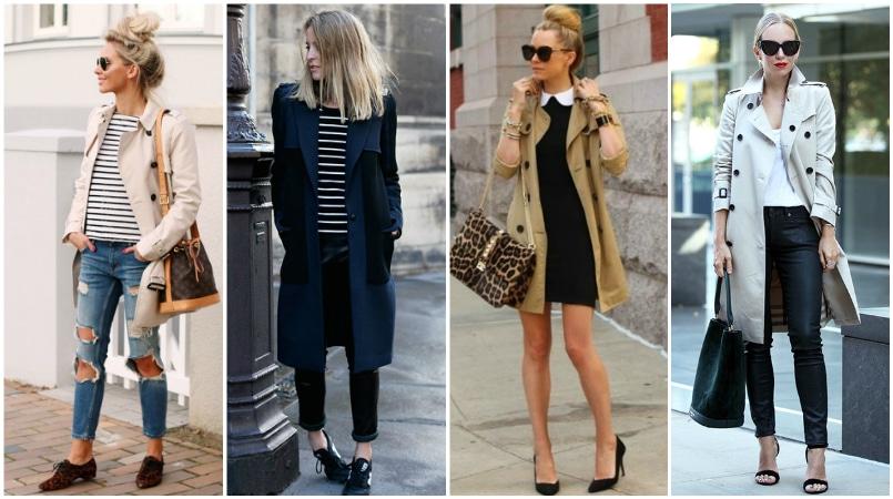 Női télikabát stílus divat trend - Esőkabát. Márkás női télikabátok