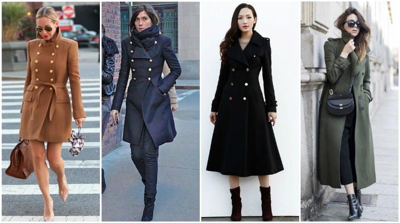 A mai katonai kabát a hagyományos férfi katonai kabátok stílusos újraértelmezése. Beépített mell és derék, dupla mellű lezárás és klasszikusan fém gombok mellett ez a stílus nőies és erős minden egyben. Nem olyan, mint egy fehérmályva, ez a kabát szexi megjelenésű lesz (amit valamennyien tudunk, télen kissé trükkös lehet)! A katonai kabát strukturált, sziluettje teszi az egyik legcsábítóbb stílust, míg vastag szövet biztosítja, hogy ez továbbra is a legmelegebb. Csak válasszuk ki a megfelelő színt és hosszúságot, és évről évre viseli ezt a klasszikus kabátot.
