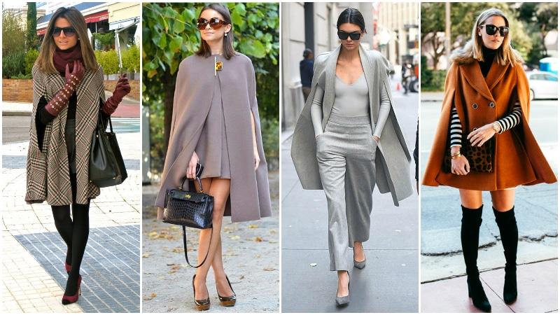 A köpeny kabát viselése kissé hasonlít a meleg és kényelmes takaró viselésére, bár sokkal stílusosabb női télikabát. Egyedi, kar nélküli kialakításuk a középkorig nyúlik vissza, és ma is népszerű. A nőies stílus teljesen lefedi a vállakat, gyakran harang alakú sziluettjét hozva létre.