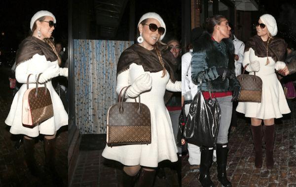 Mariah Carey: Louis Vuitton női táska vásárlás