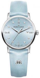 Maurice Lacroix női Eliros nyolc kék gyémánt