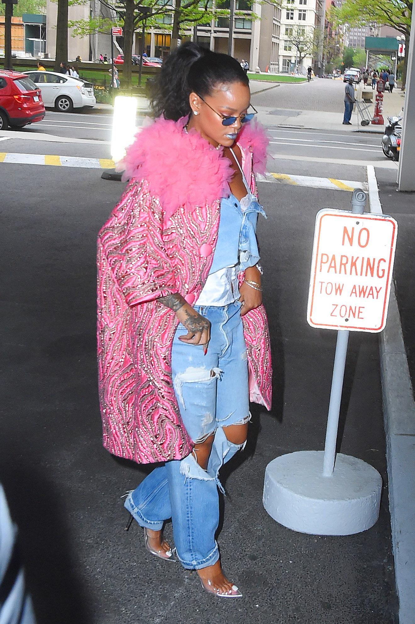 A büszke lenne kabátra Rihanna