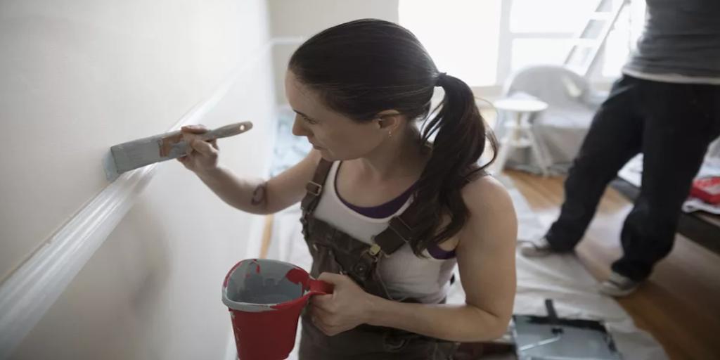 Ragasztószalag nélkül festés - Hogyan spóroljunk?