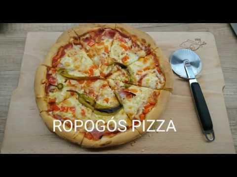 Pizza otthon videó recept
