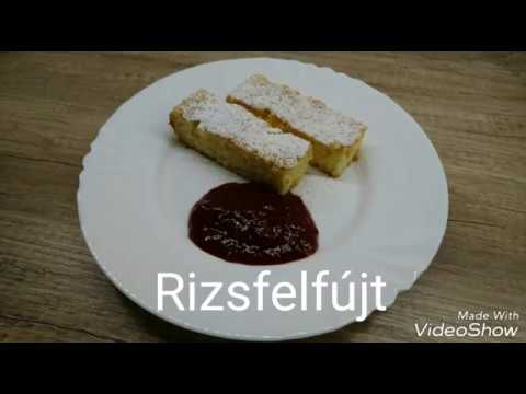 Rizsfelfújt recept videó
