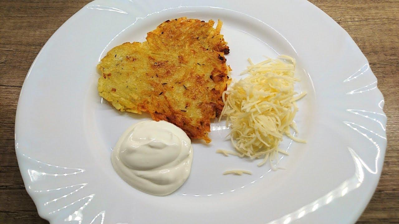 Krumplis tócsni - Tócsni - Röszti videó recept