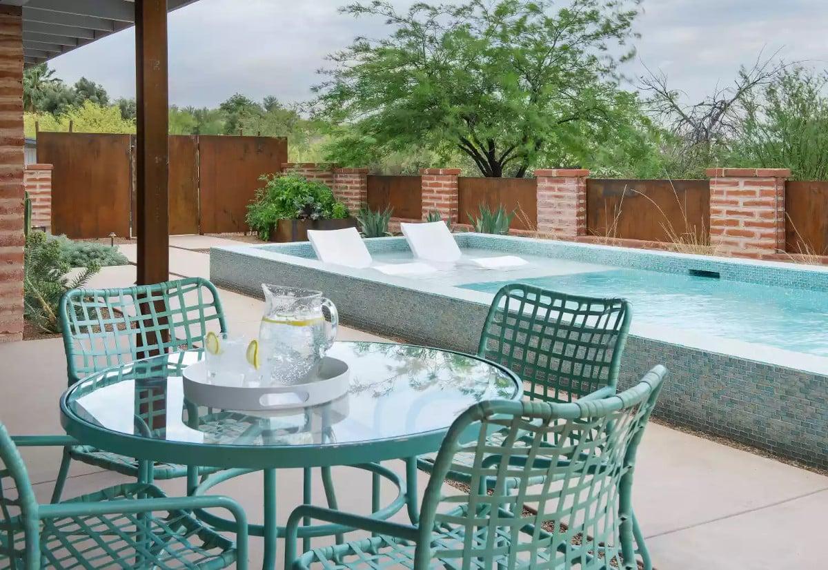 Tereprendezés - Tucson kis udvar kialakítása