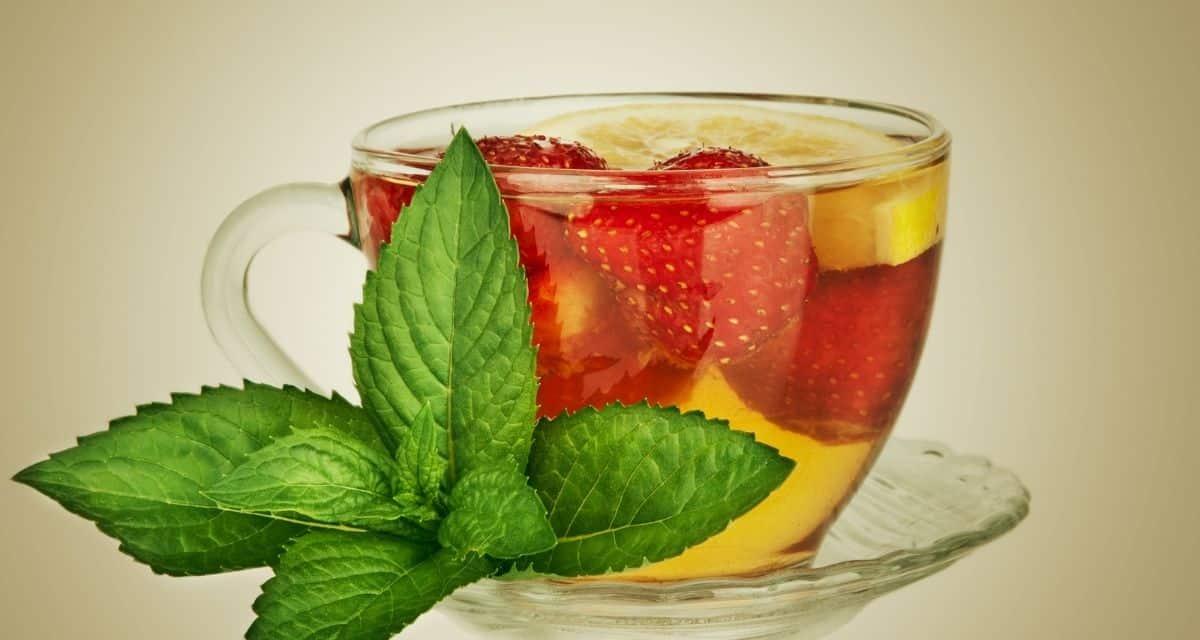A kutatók egy 2016. júniusi antioxidáns- felülvizsgálat során megfigyelték a bogyólevél előnyeit, táplálkozási és gyógyászati értékét. A eperlevél tea a kiderült, hogy bioaktív természetes forrásokban gazdagok, és antioxidánsokat, valamint gyulladáscsökkentőket tartalmaznak.