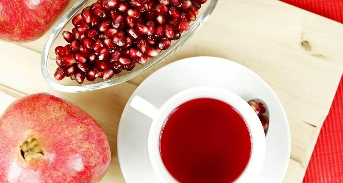 Gránátalma tea jótékony hatásai