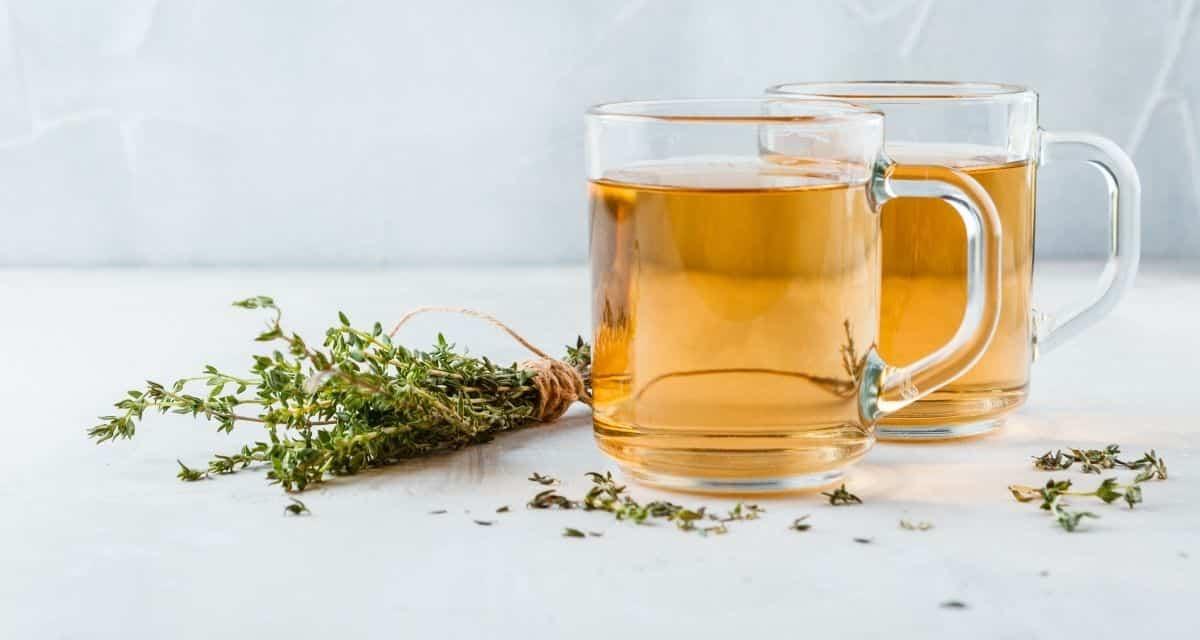 Kakukkfű tea készítése